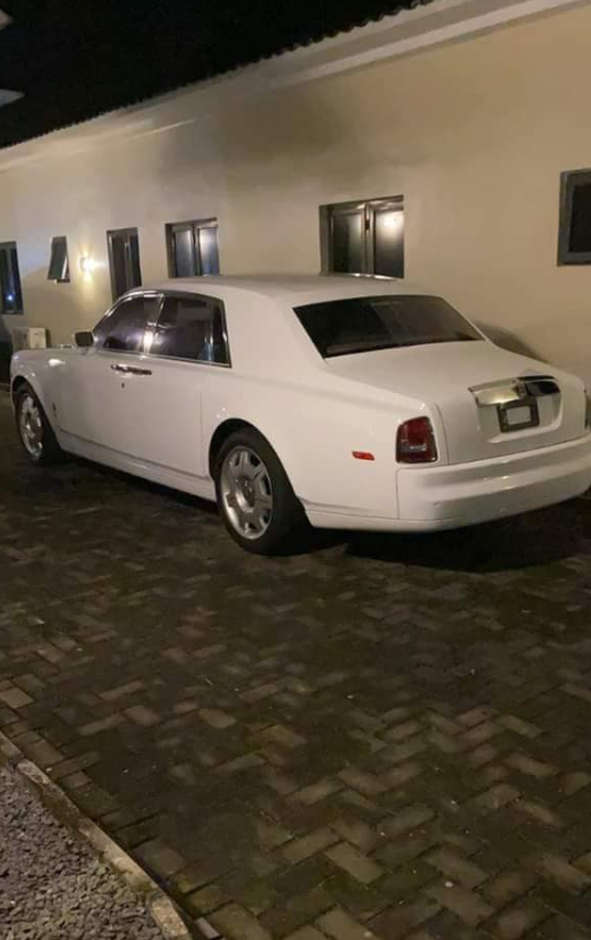 Olu of Warri designate Rolls-Royce