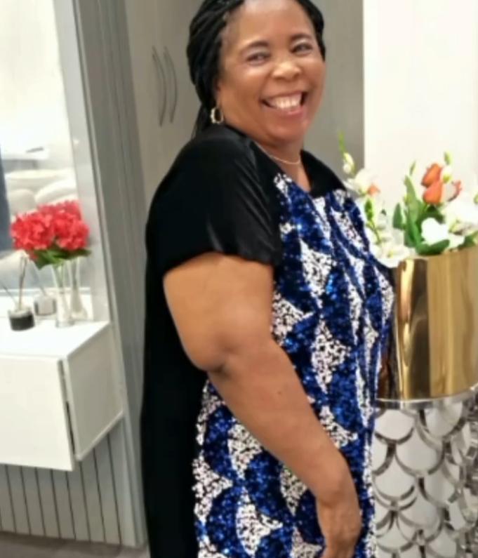 Mercy Eke mother