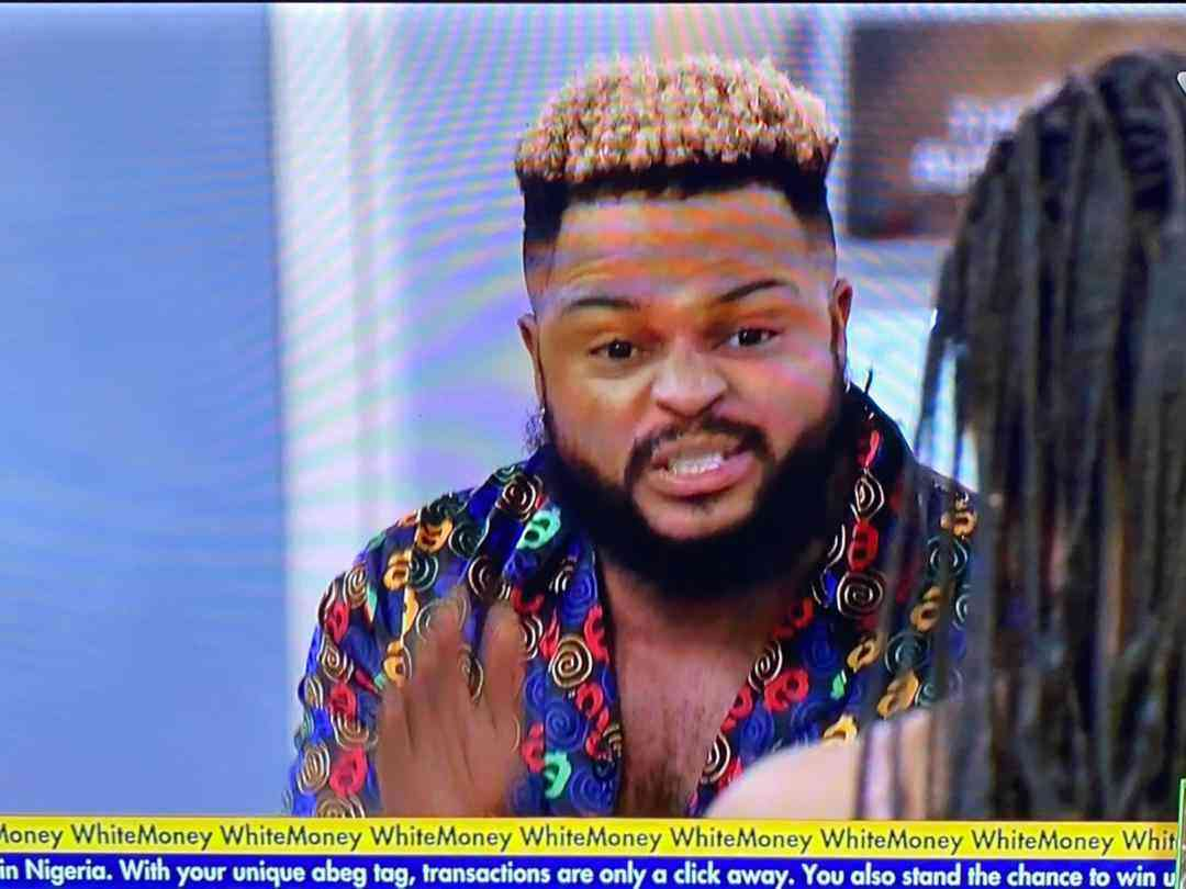 Big Brother Naija :- Whitemoney and Pere Fight after gamenight