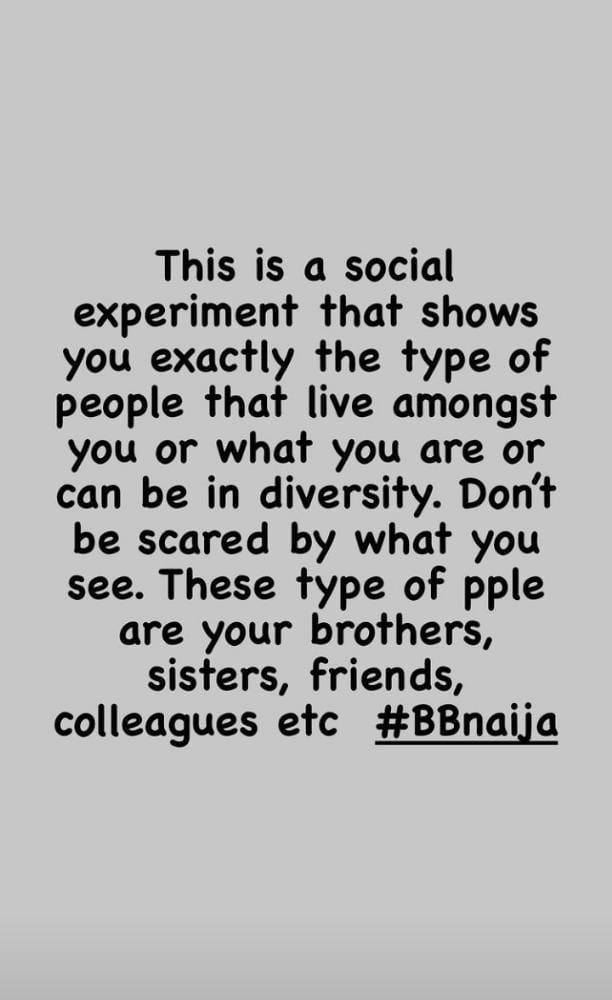Dotun social experiment