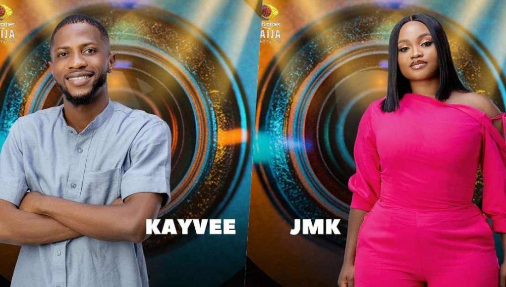 #BBNaija: Biggie introduces two more housemate, Kayvee & JMK