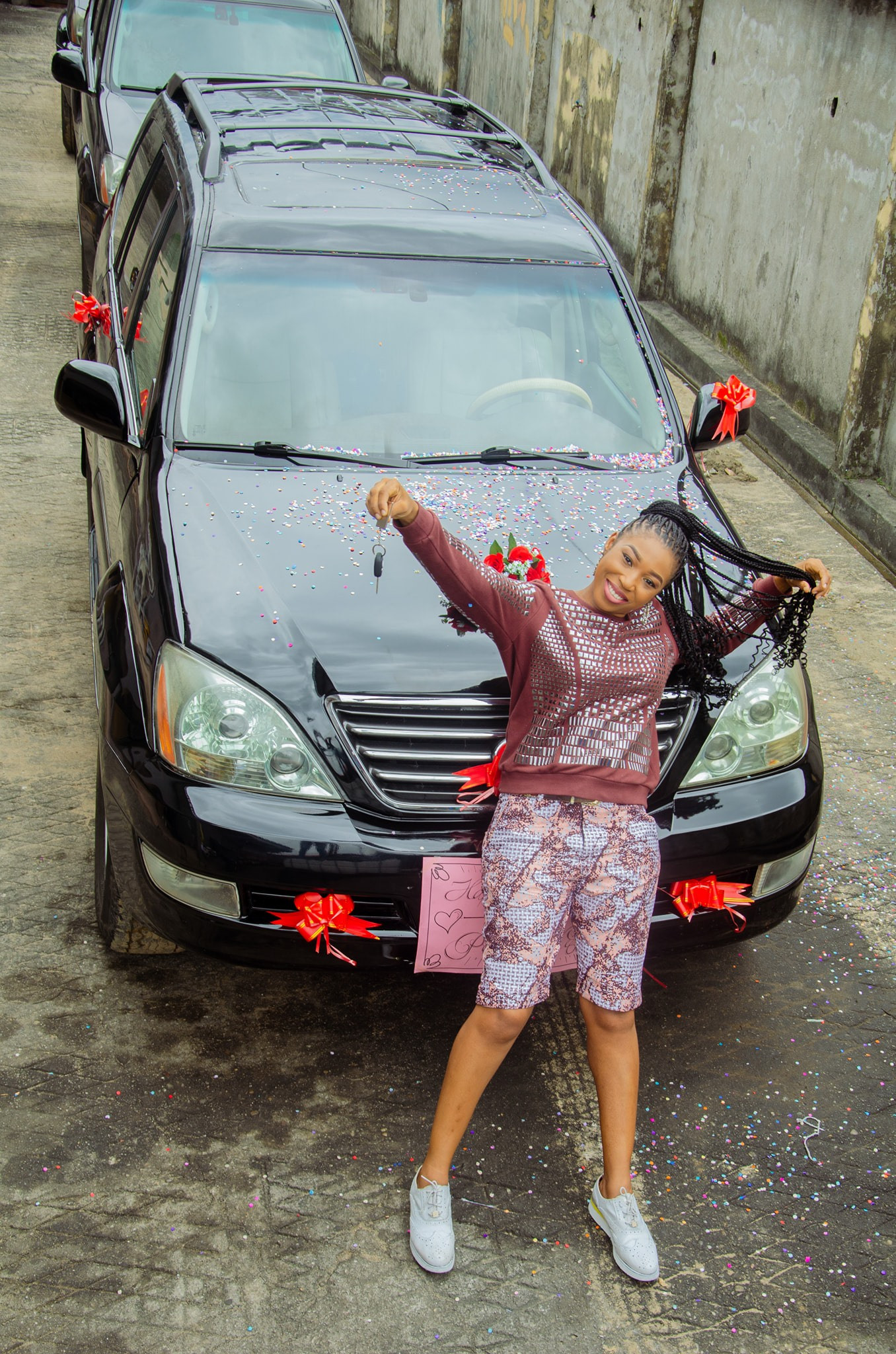 Pastor Wife Wedding Anniversary Car