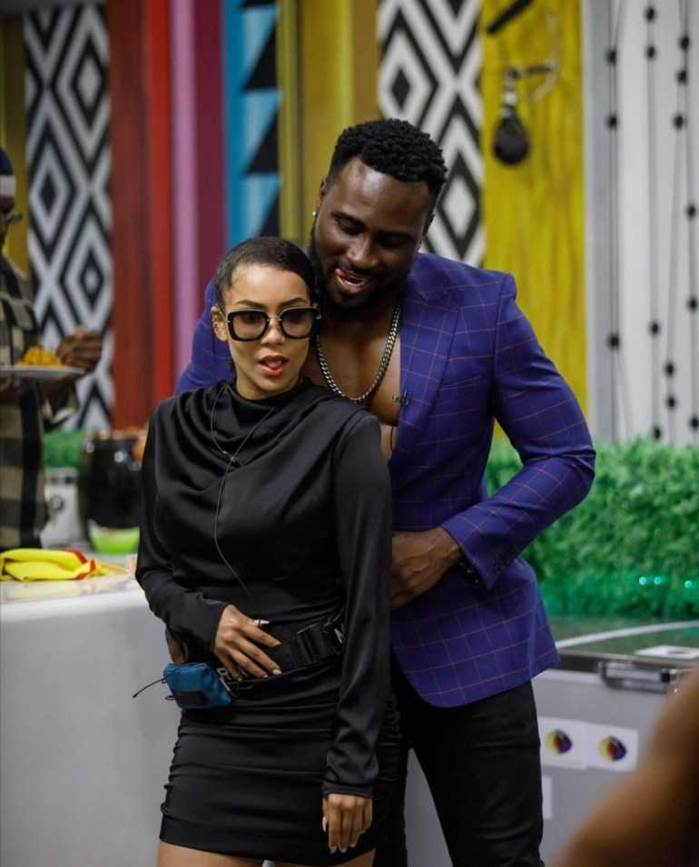 """#BBNaija: """"Pere and Maria are conciously attacking Whitemoney"""" - Arin, Jaypaul discuss (Video)"""
