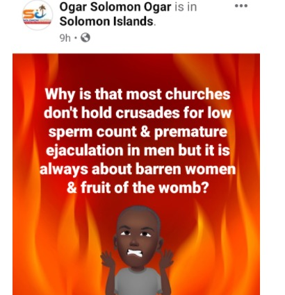 solomon ogar crusades