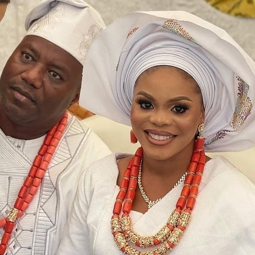 Lanre Gentry and new wife