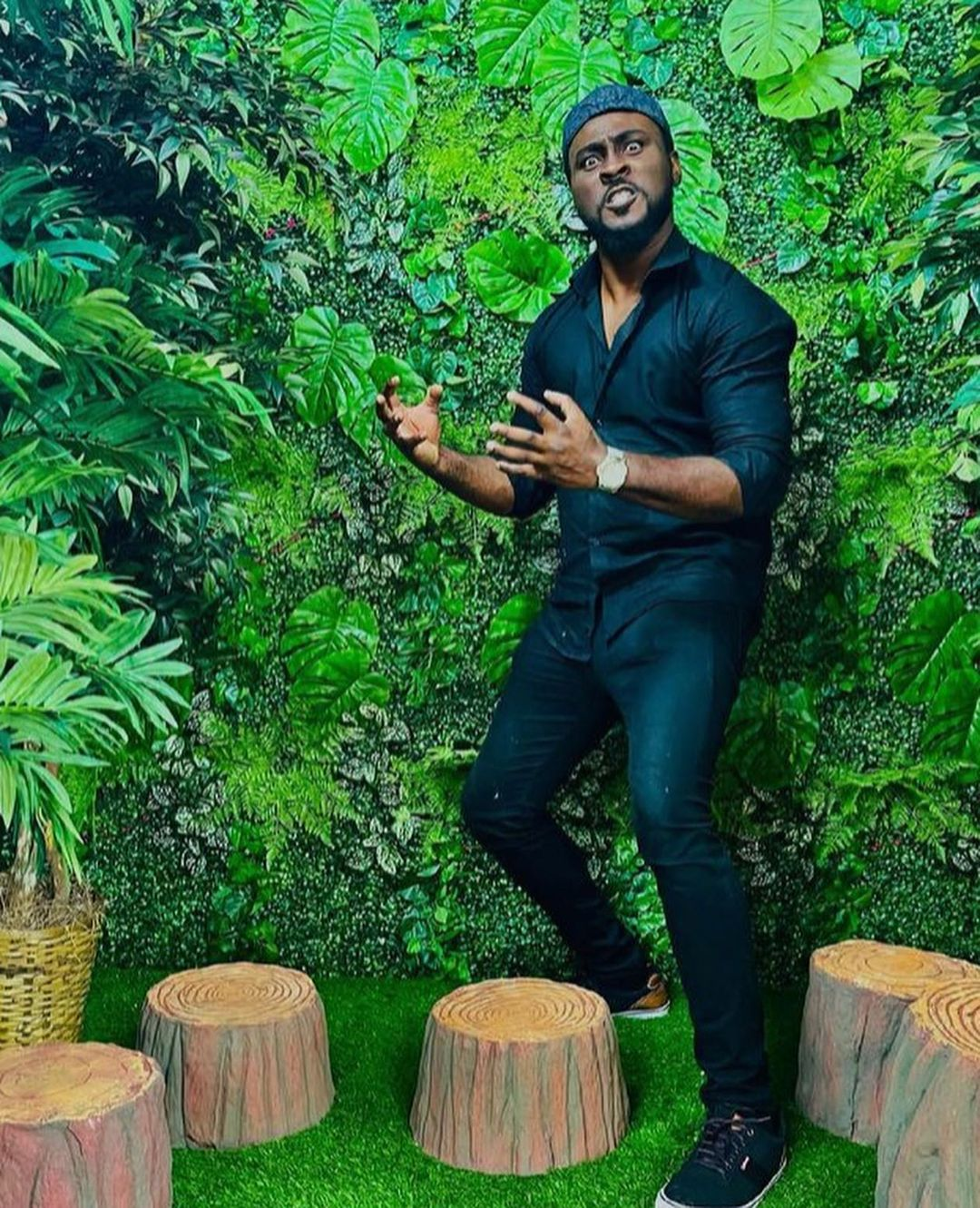"""#BBNaija: """"Pere is lonely and exhibiting suicidal behaviors"""" - Saga says, suggests voluntary exit"""