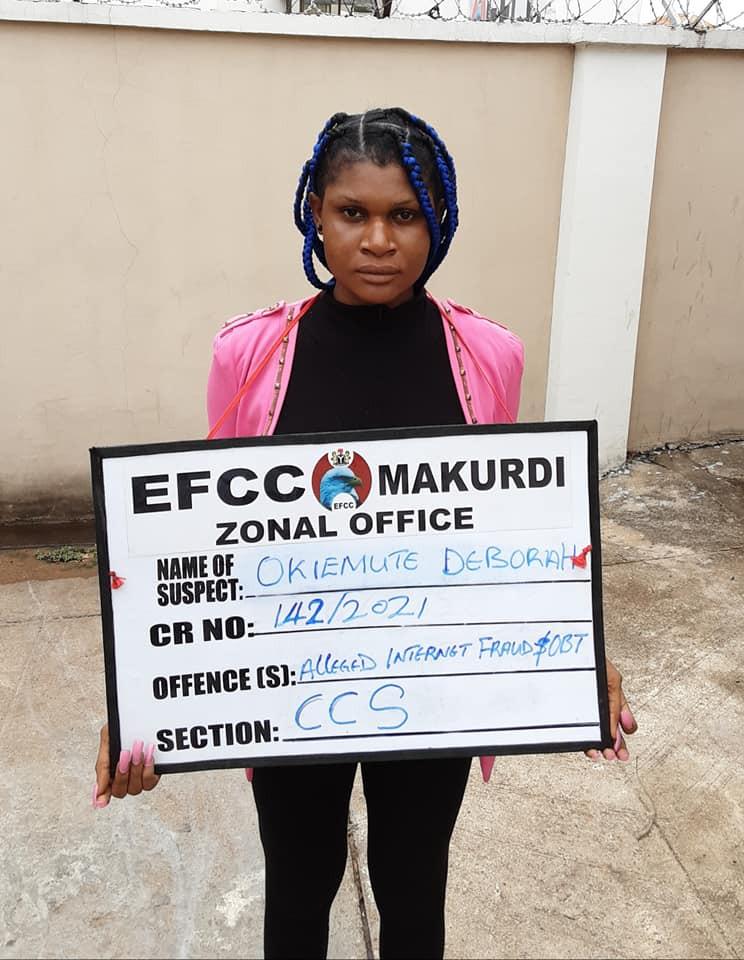 EFCC Deborah Okiemuta