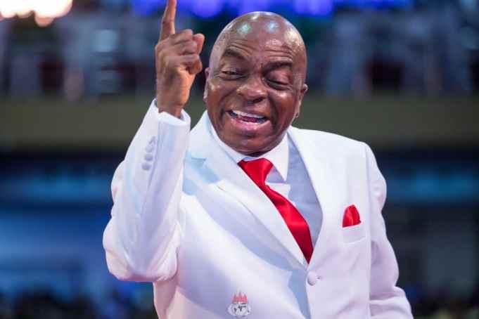 Bishop Oyedepo worshipper mad