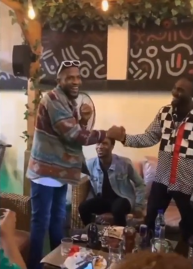 #BBNaija: Evicted season 6 housemates reunite at Sammie's party, Saskay, others absent (Video)