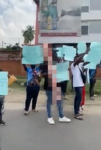 #BBNaija: Pere's fans storm Lagos to protest finale twist, vote rig (Video)