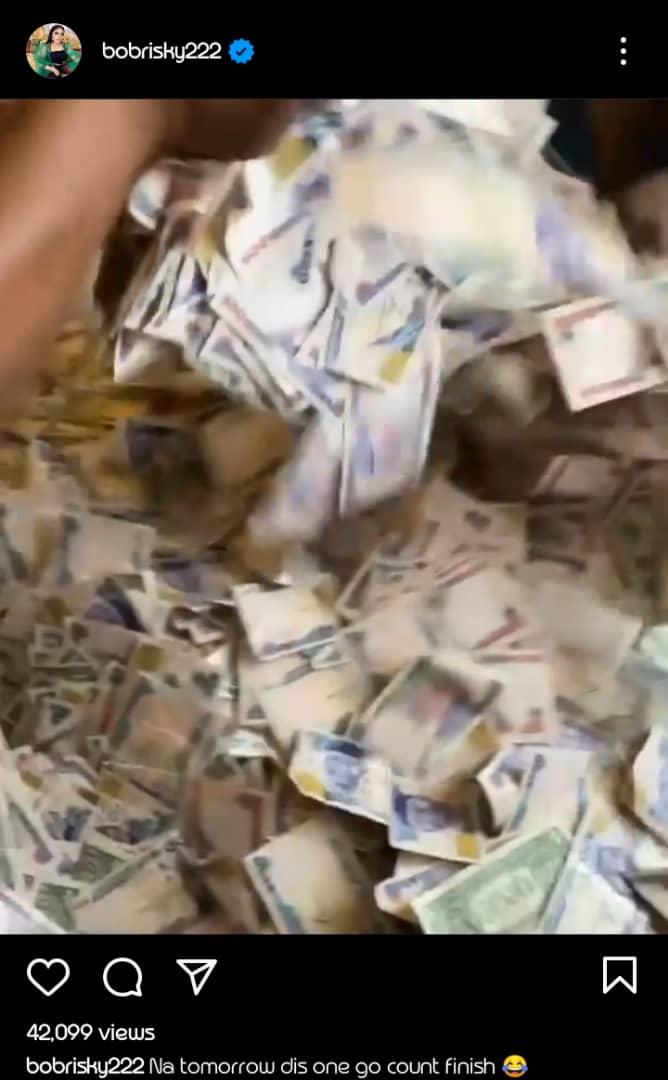 Money Bobrisky Birthday Cubana