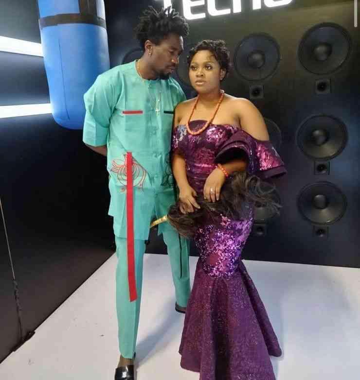 Boma Apologizes TEga husband