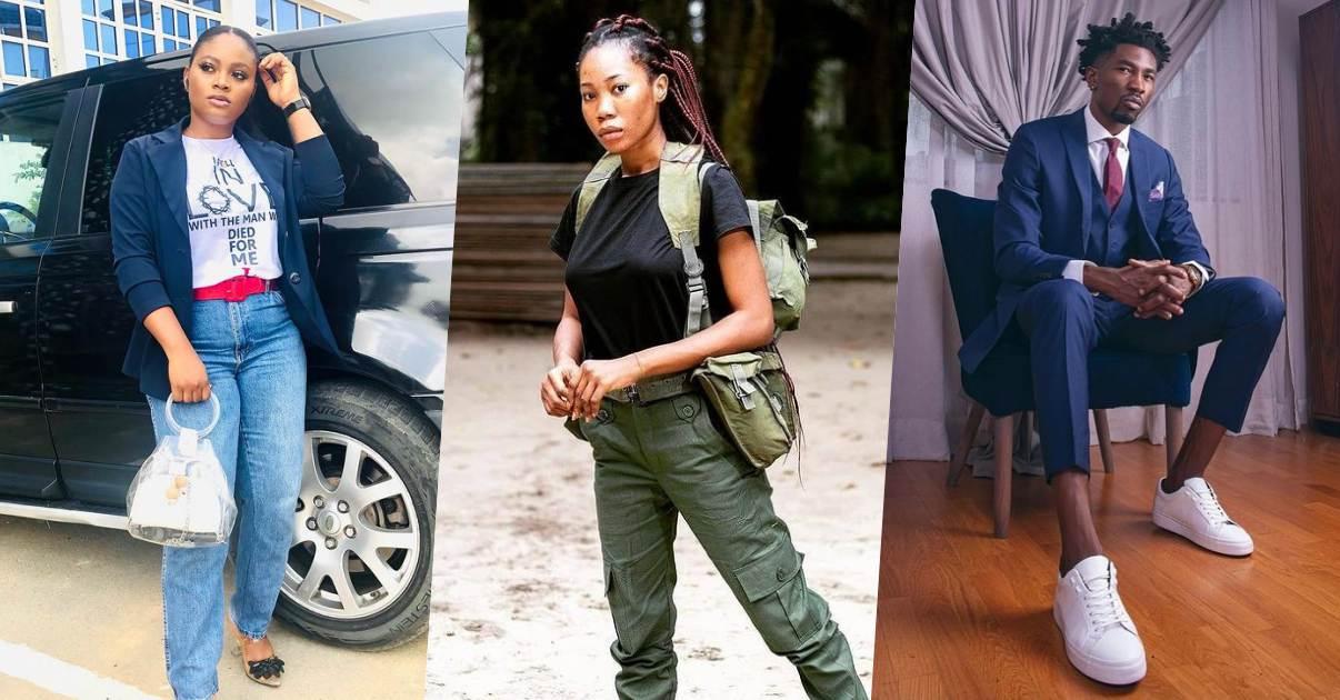 #BBNaija: Actress Lizzy Jay blasts those criticizing 'only Tega' amid affair with Boma
