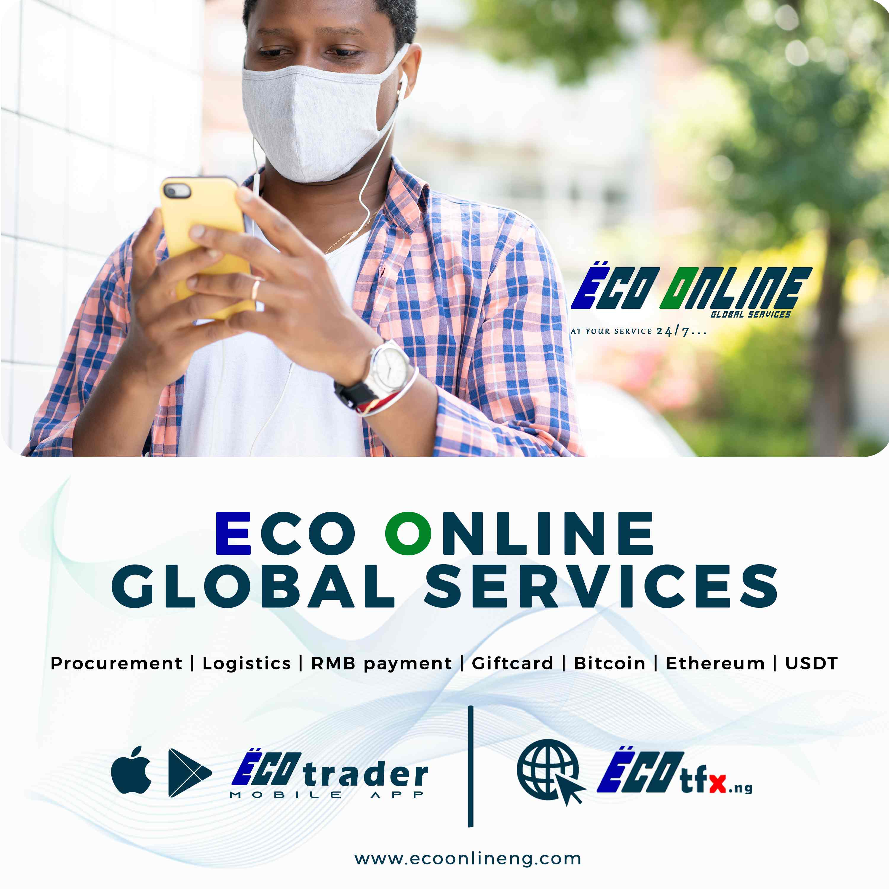 """ECO ONLINE GLOBAL SERVICES LAUNCHES TRADING APP """"ECO TRADER"""""""