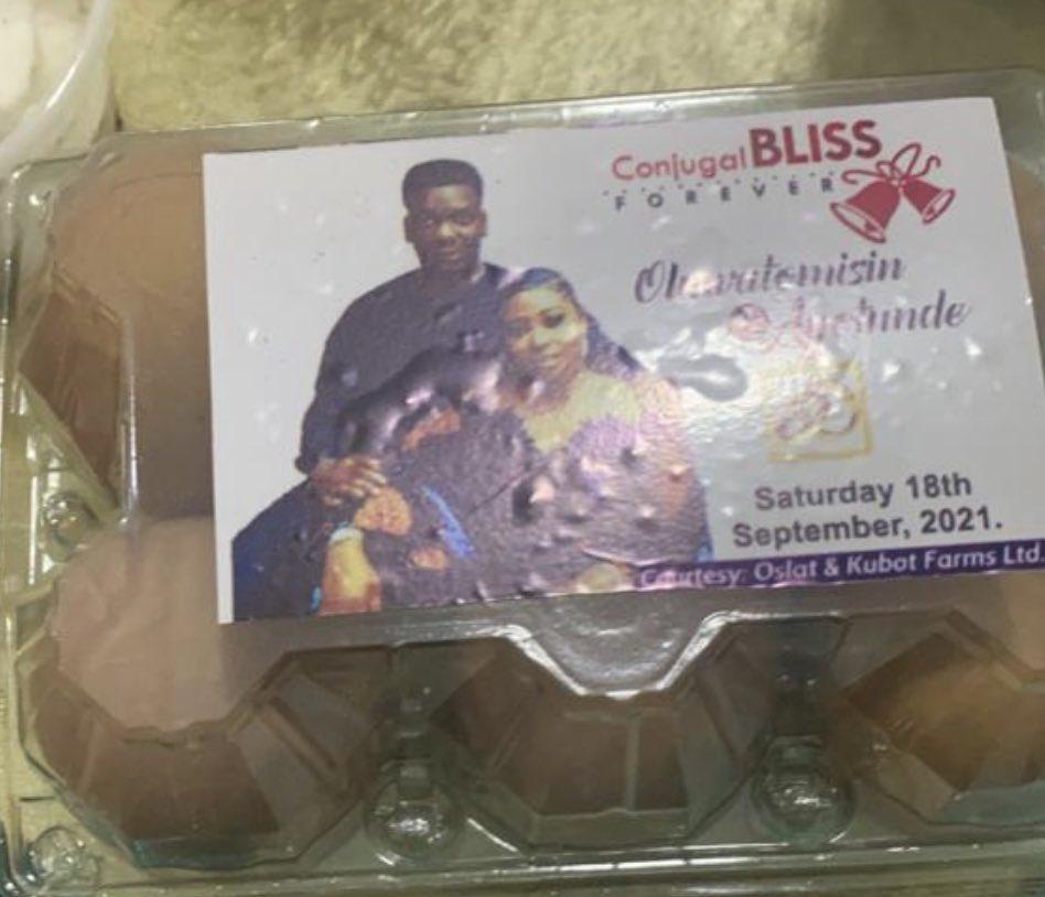 Eggs wedding Ceremony Twitter