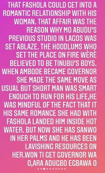 Mo Abudu Lagos Governors