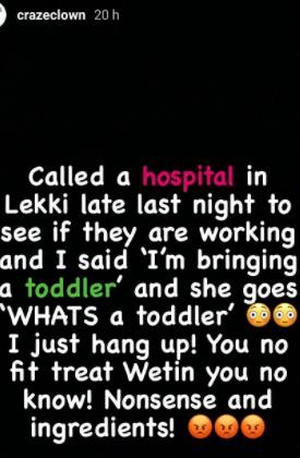 Craze Clown Hospital Toddler