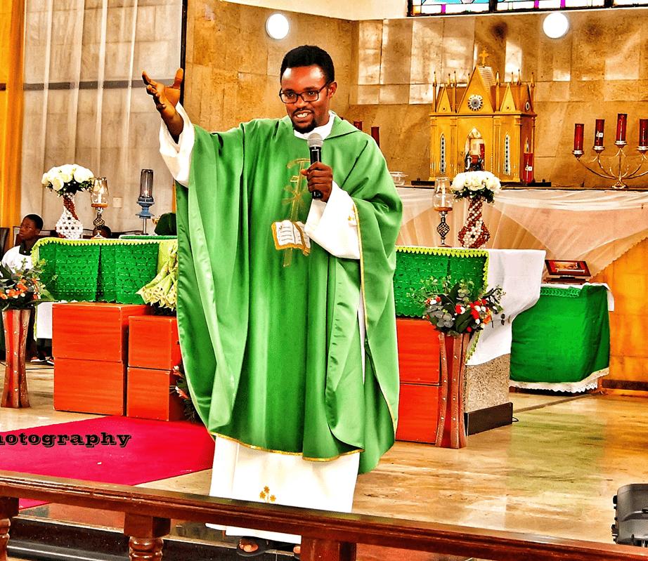 Fr Kelvin Ugwu Marital vows wedding