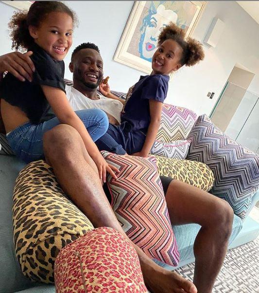 Mikel Obi Twin Daughters Birthday