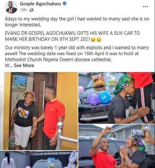Pastor Wife Birthday Car
