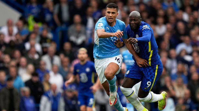 Romelu Lukaku Chelsea Manchester City