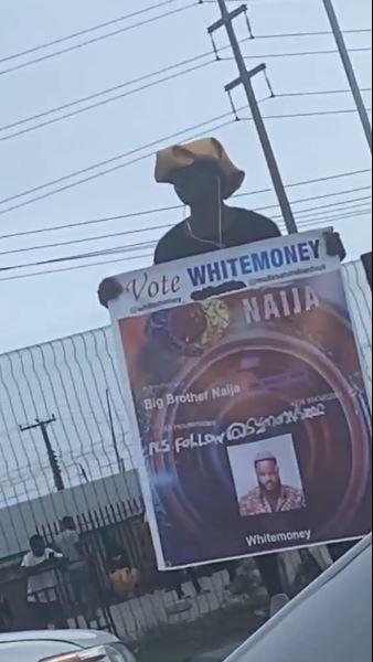 Man Campaign Whitemoney Lagos