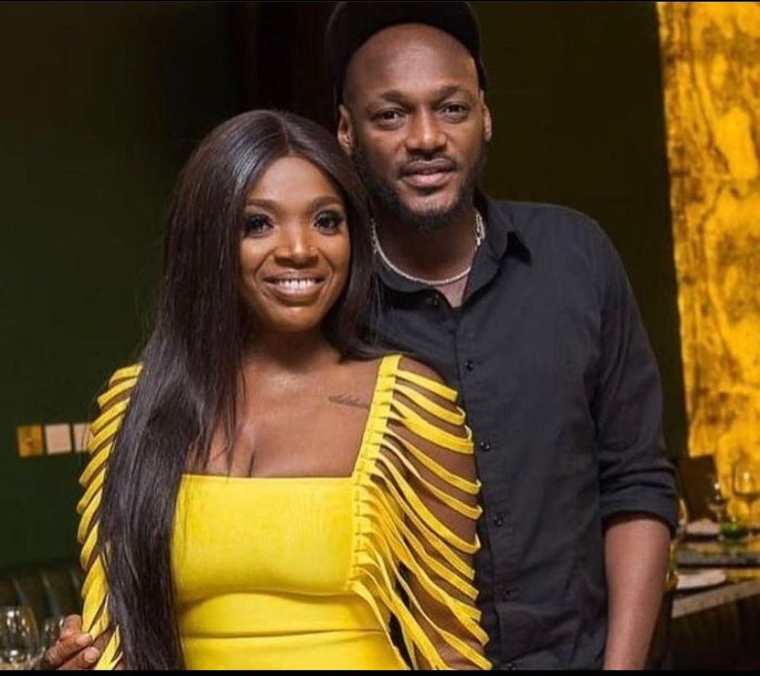 Annie Idibia breaks 2face's head fire extinguisher