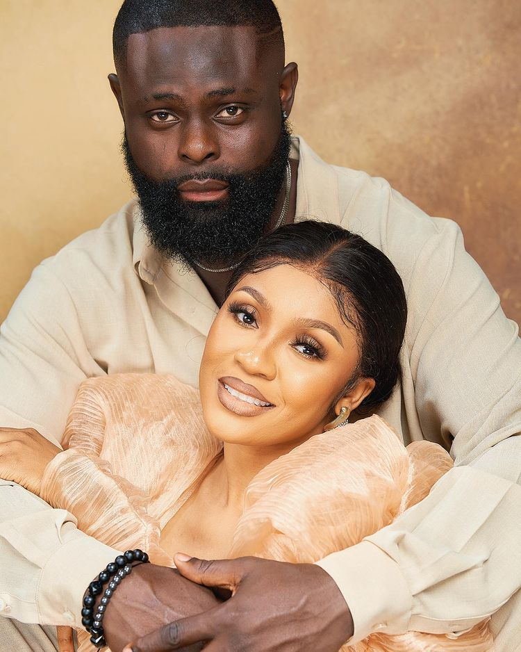 """""""You still look like a virgin"""" - Celebrity stylist, Yomi Casual and wife celebrate wedding anniversary (Video)"""