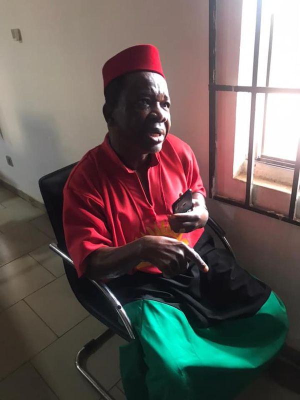 Nigerian Army reveals reason for arresting actor, Chiwetalu Agu