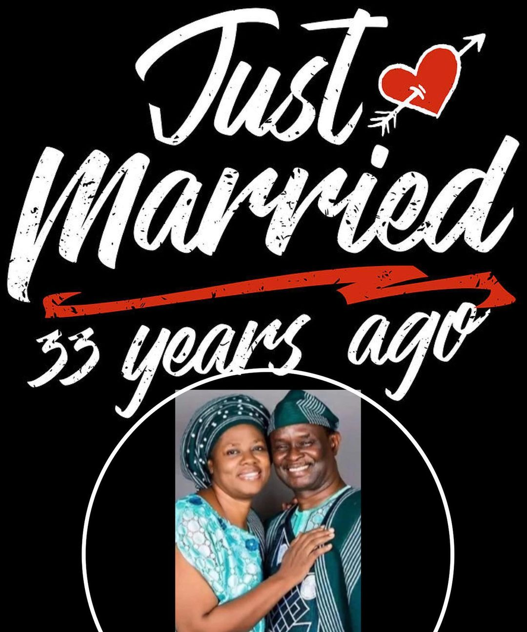 Actor, Mike Bamiloye and wife celebrate 33rd wedding anniversary with touching note