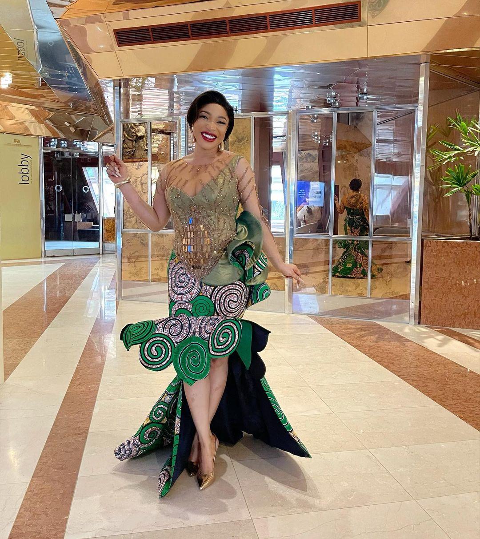 Tonto Dikeh responds to Janemena petition