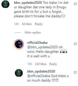 Tuface Idibia Daughter Enugu