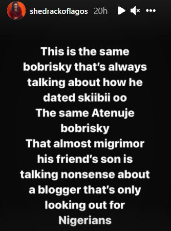 Bobrisky exposed on how he sleeps with young boys, lies about dating Timini, Skiibi (More details)