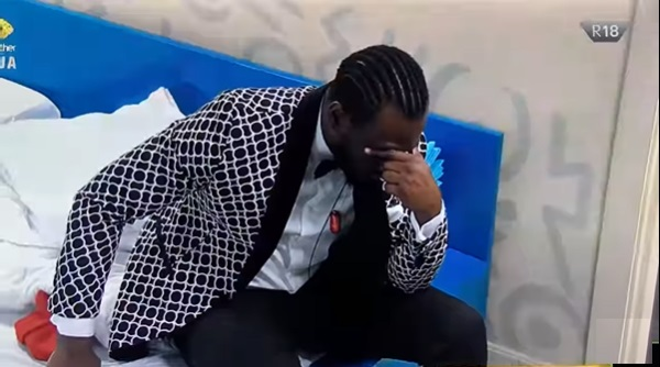 #BBNaija: Pere in deep thought after denying feelings, snubbed by Maria at Saturday party (Video)