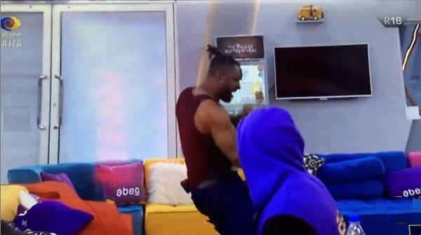 #BBNaija: Epic reaction as Liquorose and Cross win N4.5M, N2.5M respectively (Video)