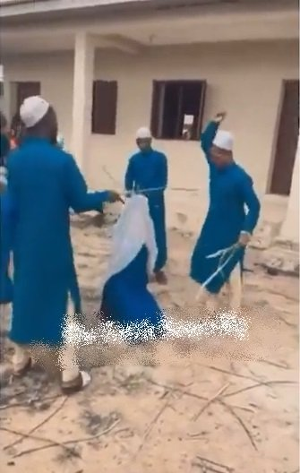 Video of four Islamic teachers flogging female student sparks outrage