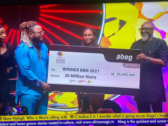 Whitemoney given 90M prize