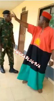 Chiwetalu Agu Army Dress