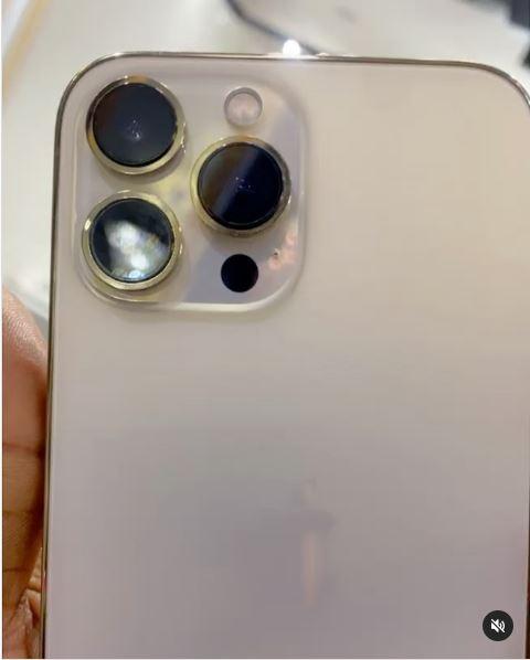 Bobrisky iPhone 13 Instagram