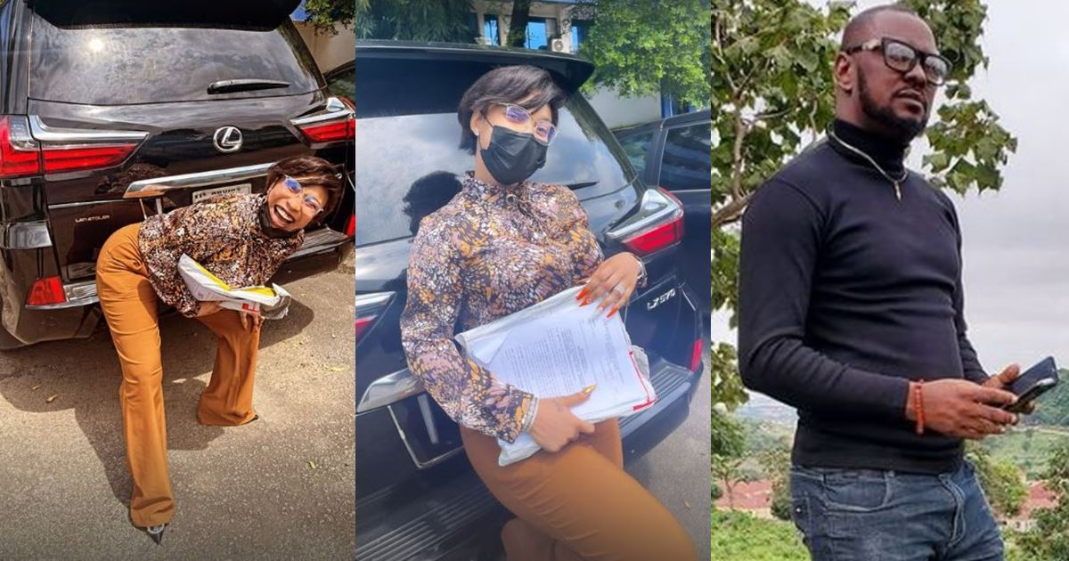"""""""He needs to answer for putting a gun to my head"""" – Tonto Dikeh reveals why she won't release Kpokpogri's car"""