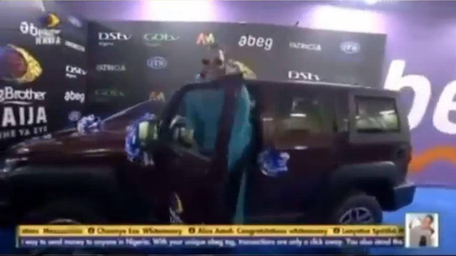 Whitemoney INnoson car winner